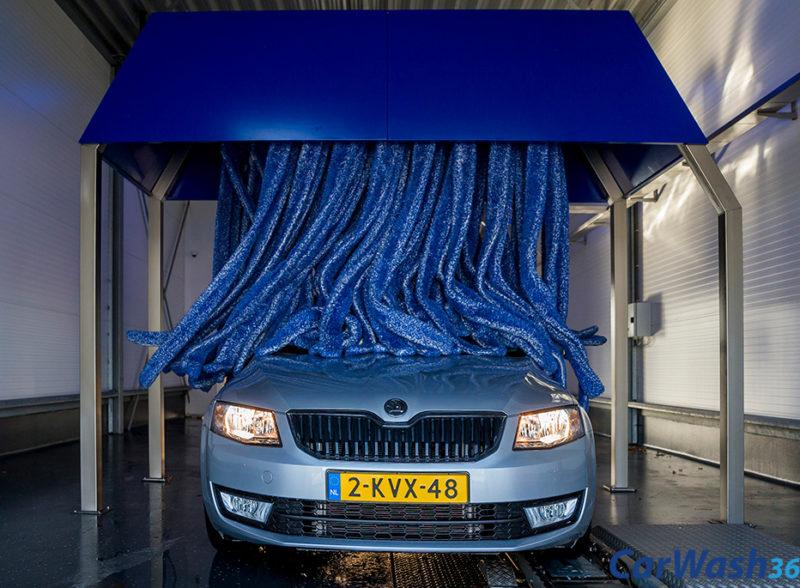 CarWash360 wasstraat auto wassen drogen