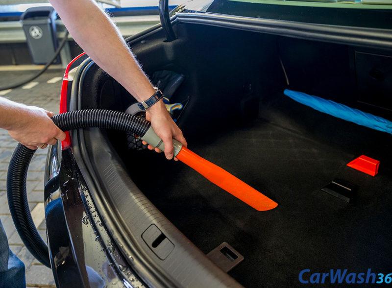 CarWash360 stofzuigen binnenkant auto