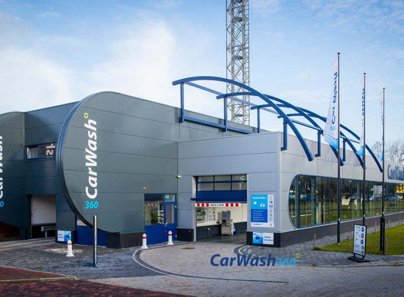 CarWash360 wasstraat carwash