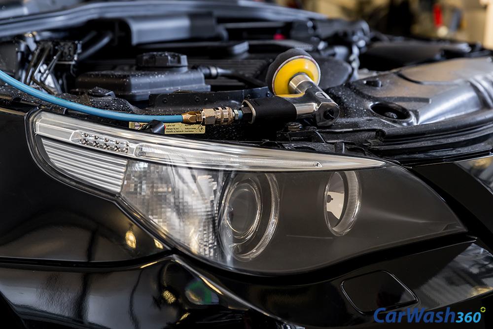 CarWash360 koplampen polijsten