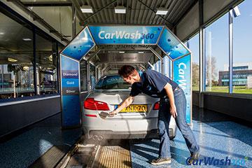 CarWash360 wasstraat